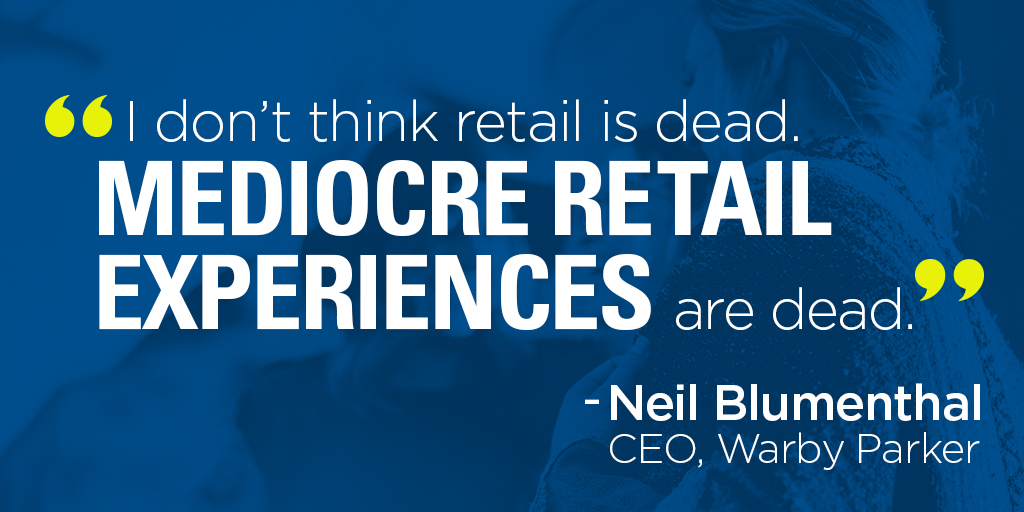Refocus on the customer experience.