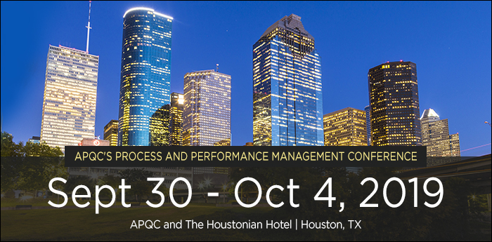 2018 Process & Performance Management Conference
