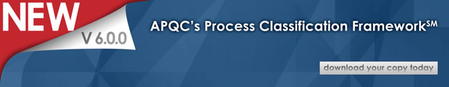 PCF - Process Classification Framework