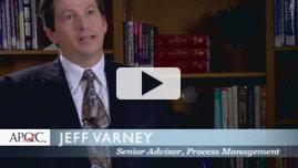 Jeff Varney, Senior Adviser, Process Improvement Practice Lead