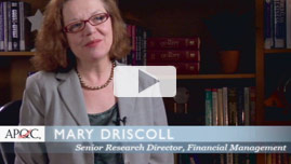 Mary Driscoll, Senior research director, Financial Management