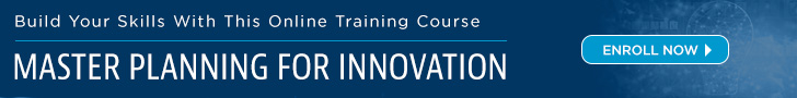 Online Course: Master Planning For Innovation