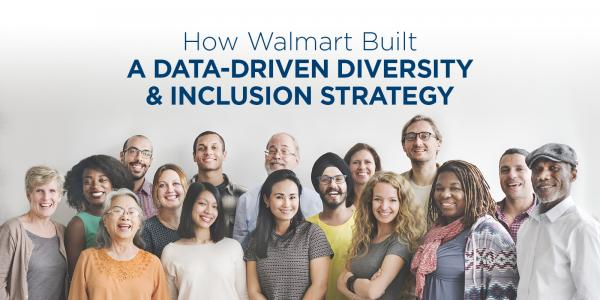 How Walmart Built A Data-Driven Diversity & Inclusion Strategy