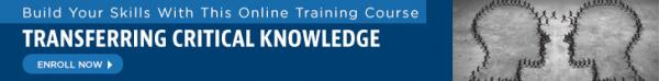Online Course: Transferring Critical Knowledge