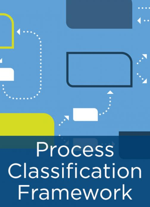 APQC Process Classification Framework (PCF) – Banking PCF